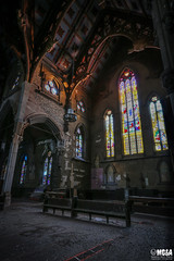 If you only pray when you're in trouble... You're in trouble (Abandoned Rurex World.) Tags: glise abandonne abandon hdr 2016 urban urbex mga explored abandoned church lost place old vintage decay derelict ue exploration urbaine canon 1022mm 70d forgotten memento mori