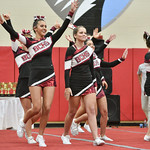 BCHS Cheer at Forest Acres 10-22-16