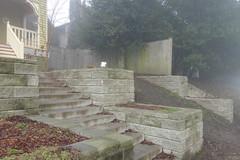 Pinwheel (Blinking Charlie) Tags: frontyard retainingwall fog 20thavenue centraldistrict centralarea seattle washingtonstate usa 2016 sonydscrx100m3 blinkingcharlie
