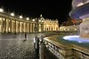 foto ricordo (bob_52) Tags: roma notturni san pietro colonnato basilica piazzale