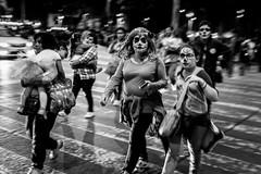La Catrina - Parade (Munir Hamdan) Tags: dayofthedead dadelosmuertos halloween streetphotography blackandwhite mexican mexicano la catrina
