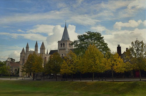 Autumn at Rochester Cathedral