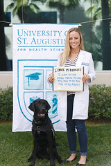 2016 National Physical Therapy Month (UniversityofStAugustine) Tags: physical therapy month national choose annual sign barley dog