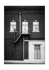 Downtown - Black and White (Terry L. Olsen) Tags: blackandwhite buildings fortsmith arkansas ononesoftware