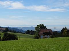 Thurner, Black Forest, Baden, Germany (Loeffle) Tags: 102016 germany allemagne schwarzwald baden blackforest foretnoire thurner panorama view blick aussicht