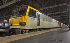 92044 Glasgow Central (barry.young10) Tags: 92044 accident damage caledonian sleeper glasgow central
