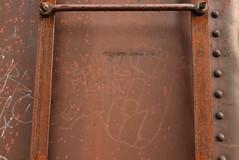WHO BOTHERS DIGGIN (04) (TheGraffitiHunters) Tags: graffiti graff tag streak moniker benching benched who bothers diggin 2004 boxcar
