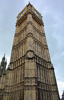 Clock Tower at the Palace of Westminster (Big Ben inside)