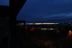Feierabendbrosonnenuntergang mit Zugspitze (raumoberbayern) Tags: zugspitze sundown sonnenuntergang munich mnchen fhn bayern robbbilder sky himmel alpen stadt alps city