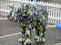 An Elephant Never Forgets Where She Has Come From by Caroline Greyling, Herd of Sheffield Farewell Weekend 2016 (Dave_Johnson) Tags: anelephantneverforgetswhereshehascomefrom carolinegreyling cutlery sheffieldcutlery sheffieldknife sheffieldknives madeinsheffield herdofsheffield herd elephant elephants art streetart sculpture sheffchildrens sheffieldchildrenshospitalcharity sheffieldchildrenshospital childrenshospitalcharity childrenshospital sheffield southyorkshire meadowhall carpark shoppingcentre