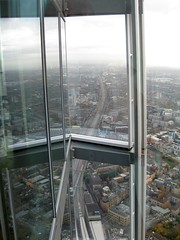 Details of the Shard #2 (streetr's_flickr) Tags: theshardoflondon highrise panorama tallbuildings structures architecture london city steelwork glazing