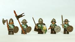 Dragon Slayers (11inthewoods) Tags: knights lego castle brickwarriors brickforge dragon dragons medieval figbarf minifig minifigures minifigs