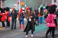 Too Many Mickies (zaxouzo) Tags: timessquare nikond90 monday october people public streetstyle street asian 2016 mickey costume candid