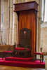 Arundel - Roman Catholic Cathedral Bishop's Throne (Le Monde1) Tags: arundel howard dukeofnorfolk lemonde1 nikon d610 town castle cathedral romancatholic market westsussex england county uk southdowns riverarun frenchgothic architect josephaloysiushansom seat cathedra bishopsthrone