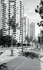 Queen's Quay Bike Path_ (Bill Smith1) Tags: believeinfilm berggerbrf400 billsmithsphotography d7611 harbourfront heyfsc nikkoraislenses nikonfm2n october2016 toronto filmshooterscollective