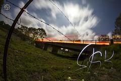 Road Train (MISHKA Vision - Light Graffer) Tags: australie australia lightpainting lightgraff longexposure expositionlongue nightphotography roadtrip