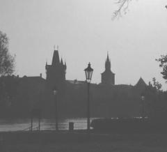 Remembering Prague  (Natalia Romashina) Tags: instagramapp square squareformat iphoneography uploaded:by=instagram inkwell prague blackandwhitephotography blackandwhite noir landscapes city mystery dark darknessshadow darkarts praha atmosphere autumn
