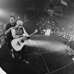 Via Zach: Make no mistake ... Everything that happens on my side of the stage night in and night out is the act of a duo ... And this guy is the other half of that .... He's been taking care of me for almost a decade now. . . And he's the most loyal , hon (ShinedownsNation) Tags: shinedown nation shinedowns zach myers brent smith eric bass barry kerch