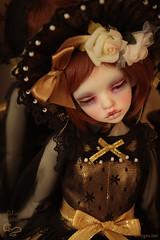 Mirror 1 (Atelier Murinae) Tags: bjd ball jointed doll dim dollinmind ariadoll gold laia