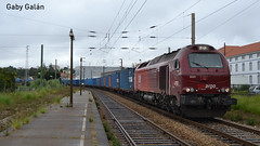 Teco de Takargo (Londeras) Tags: takargo contenedores comboio contentores euro 4000 vossloh valadares ferrocarril tren locomotora locomotiva euro4000 6001