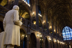 John Rylands Library (Five Second Rule) Tags: manchester library johnrylandslibrary architecture sculpture city stone building stainedglass arches books publicbuildings neogothic victorian deansgate 2016