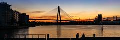 White Bay (scotty-70) Tags: sydney sunset sony a7 voigtlander nsw bridge anzac