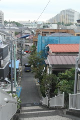 tokyo6101 (tanayan) Tags: urban town cityscape tokyo japan akabane nikon j1    road street alley slope