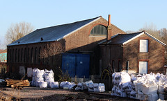 The former Goods Shed at Crowborough (S J Obey) Tags: lbscr goods shed crowborough uckfield branch line