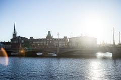 Stockholm-27 (sandmilk) Tags: stockholm sun sunlights sunshine bridge