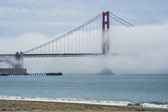 atmospheric stream (pbo31) Tags: california nikon d810 color november fall 2016 bayarea boury pbo31 goldengatebridge 101 bridge presidio goldengatenationalrecreationarea crissyfield fog foggy clouds overcast white sky blue pier
