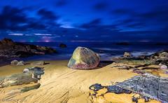 _MG_8486_web - An ancient dragon egg? (AlexDROP) Tags: 2016 thailand travel color night sea longexposure bluehour canon6d ef16354lis postcard landscape picturesque famous sand rock hdr