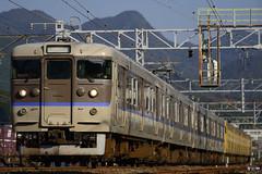 DSC1014 (nEUROn FL) Tags: railway train hiroshima jr jnr japanrails jr   113 emu