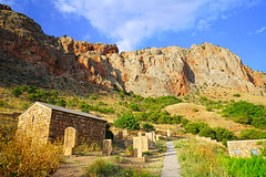 Backyard of Noravank monastery, Armenia