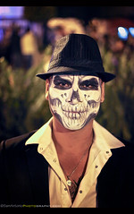 Day of the Dead 2016 - San Miguel de Allende, Mexico (Sam Antonio Photography) Tags: eldiademuertos travel mexicanculture samantoniophotography mexico portrait skull halloween mexican mask death person costume scary skeleton carnival art celebration dead day festival dia decoration holiday face muertos spooky paint makeup traditional adult horror creepy beauty sugarskull calavera dayofthedead november
