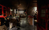 Tea space in an old block - Hanoi (photoongg) Tags: tea cozy red light night