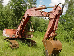 O&K D-Serie (Vehicle Tim) Tags: ok baumaschine bau bagger kettenbagger machinery construction