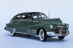 1948 Chevrolet Fleetline - AeroSedan (Ken Hendricks and Larry Patchett) Tags: danburymint 1948 chevrolet fleetlineaerosedan 124scale diecast model car