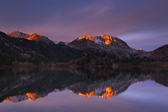 morning light (Andy Kennelly) Tags: june lake loop fall morning light alpenglow reflections mountains snow eastern sierra sunrise