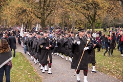 20161111_0024_1 (Bruce McPherson) Tags: brucemcphersonphotography vpdpipeband remembranceday southmemorialpark southmemorialparkcenotaph cenotaph vancouverpolice vpd cadets marchpast march marching autumn fall fallleaves memorial vancouver bc canada