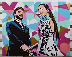 Lobo | Pop Art (Lobo - Pop Art) Tags: quadrolalanoleto lalanoleto popart lobopopart casamento arte art pintura quadropersonalizado artistabrasileiro artistaplastico artebrasileira blogueira