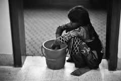 The 6 to 12 job (N A Y E E M) Tags: djoba maid servant girl poverty childlabour domestique friday afternoon home 1stfloor candid portrait rabiarahmanlane chittagong bangladesh availablelight indoors