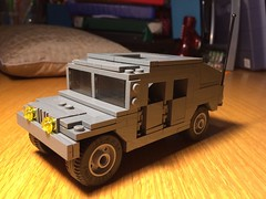 Humvee Special Forces revised (jonahfox1) Tags: lego brickmania humvee military brickarms minifig moc vehicle car modern special ops forces model