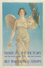 Share in the Victory, W.S.S. (Library Company of Philadelphia) Tags: librarycompanyofphiladelphia worldwari warsavingsstamps