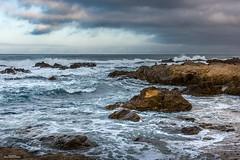 Asilomar Morning (59roadking - Jim Johnston) Tags: ifttt 500px ocean beach sea water sky clouds blue rocks seascape waves coast california pacific asilomar