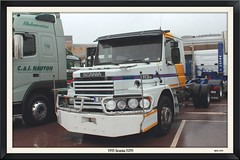 1991 Scania 113H (mickyman13) Tags: scania 113h scania113h canon cannoneos60d eos eos60d 60d 60deos alltypesoftransport automobile transport truck vehicles vehcile gaydon britishmotormuseum thebritishmotormuseum tcab scaniatcab scaniatcab114f