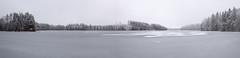 Lake Oulanki in The Winter (Mika K.) Tags: oulanki panorama 2016 suomi jrvi mikkeli lake ice