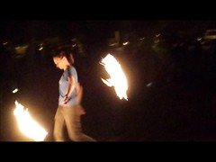 pgh (B Darling) Tags: full moon jam fullmoon moonjam fullmoonjam fire spinning firespinning burn burning man woman spin drum drumming