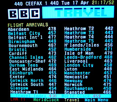 Ceefax 1 - Page 440 Flight Arrivals Index (EZTD) Tags: photo foto fotograf photos photographic photographs photograph fotos crystalpalace photograf ceefax fotograaf dso photographes crystalpalacetransmitter bbc1 photographen digitalswitchover eztd eztdphotography photograaf bbcceefax ripceefax bbc1analogue ceefax1 ceefax19742012 analoguesignal ceefaxmemories fotoseztd eztdphotos leeztd dereztd