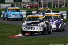 Mighty Minis Cadwell Park 64 (Team Tuckley Racing) Tags: park simon may racing mighty 13th minis 2012 cadwell brscc tuckley