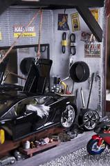 lamborghini Garage Diorama  كراج لامبورجيني مصغر